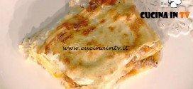 La Prova del Cuoco - Lasagne alla milanese ricetta Sergio Barzetti