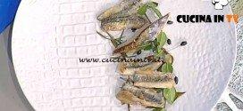 La Prova del Cuoco - Pesce azzurro in carpione ricetta Gianfranco Pascucci