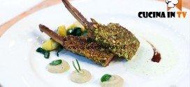 Masterchef 5 - ricetta Agnello in crosta di pistacchi di Alida