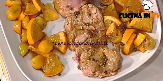 La Prova del Cuoco - Arrosto di maiale all'arancia ricetta Luisanna Messeri