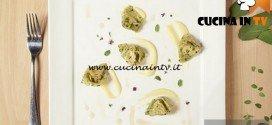 Masterchef 5 - ricetta Cappellacci di salama da sugo su crema di patate di Dario