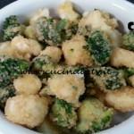 Cotto e mangiato - Fritto misto broccoli e cavolfiori ricetta Tessa Gelisio