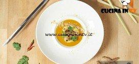Masterchef 5 - ricetta Moqueca in gazpacho con ceviche di scampi di Andrea