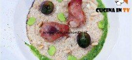 Masterchef 5 - ricetta Porridge ai profumi di montagna di Andrea