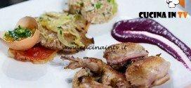 Masterchef 5 - ricetta Quaglia alle fave e salsa agrodolce d'uva di Maradona