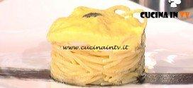 La Prova del Cuoco - Spaghetti alla carbonara di seppia ed il suo nero ricetta Ivano Riccobono