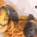 La Prova del Cuoco - Spaghetti con cozze ripiene ricetta Gianfranco Pascucci