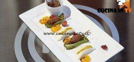 Masterchef 5 - ricetta Spiedino con quinoa in gabbia di Laura
