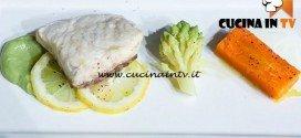 Masterchef 5 - ricetta Storione e patata americana al cartoccio di Dario
