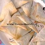 La Prova del Cuoco - Triangolini di pasta fillo con bietole e crescenza ricetta Marco Bianchi