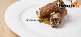 Masterchef 5 - ricetta Cannolo salato con coulis di pomodori di Luigi