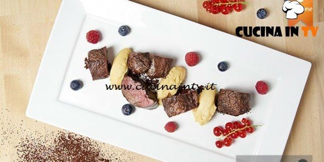 Masterchef 5 - ricetta Capriolo con cacao amaro di Lorenzo