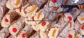 La Prova del Cuoco - Gelato al cannolo di Sicilia profumato all'arancia ricetta Pietro Di Noto