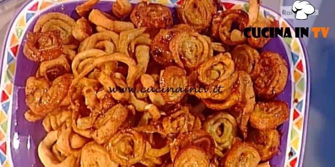 La Prova del Cuoco - Girandole di carnevale ricetta Anna Moroni