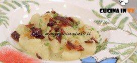 La Cuoca Bendata - ricetta Gnocchi alla crema di porri e speck di Benedetta Parodi