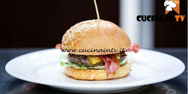 Masterchef 5 - ricetta Hamburger classico americano di Lorenzo