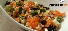 Cotto e mangiato - Insalata di orzo zucca e feta ricetta Tessa Gelisio