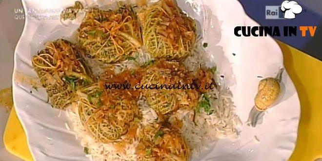 La Prova del Cuoco - Involtini del cavolo ricetta Luisanna Messeri