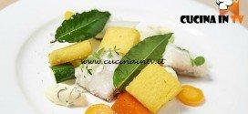 Masterchef 5 - ricetta Luccio in giardiniera di verdura con polenta croccante di Bruno Barbieri
