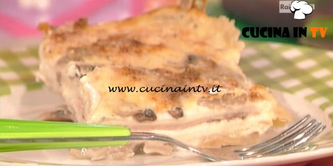 La Prova del Cuoco - Parmigiana di pancarré ricetta Anna Moroni