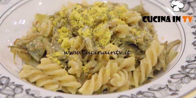 La Cuoca Bendata - ricetta Pasta mimosa con carciofi di Benedetta Parodi