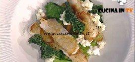 La Prova del Cuoco - Pesce sciabola panato con broccoli e pop corn ricetta Gianfranco Pascucci
