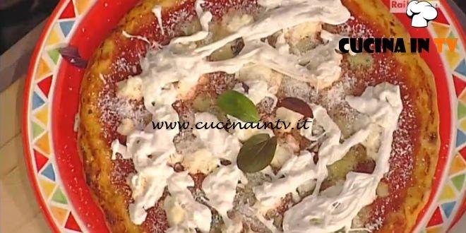 La Prova del Cuoco - Pizza tonda ai 4 latti e pomodoro ricetta Gino Sorbillo