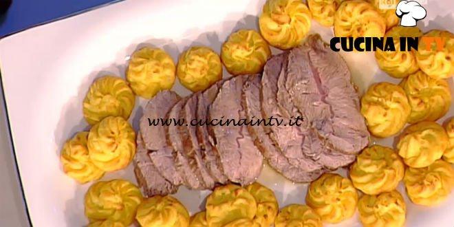 La Prova del Cuoco - Pommes duchesse con rollè di vitello ricetta Anna Moroni