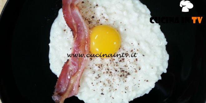 Cotto e mangiato - Risotto alla carbonara interattivo ricetta Tessa Gelisio