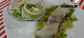 Cotto e mangiato - Rombo ai porri ricetta Tessa Gelisio