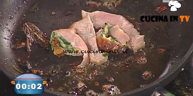 La Prova del Cuoco - ricetta Sabrina con frittatina di spinaci