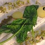 La Prova del Cuoco - Sogliola al burro di alghe spinaci e profumo di limoni ricetta Gianfranco Pascucci