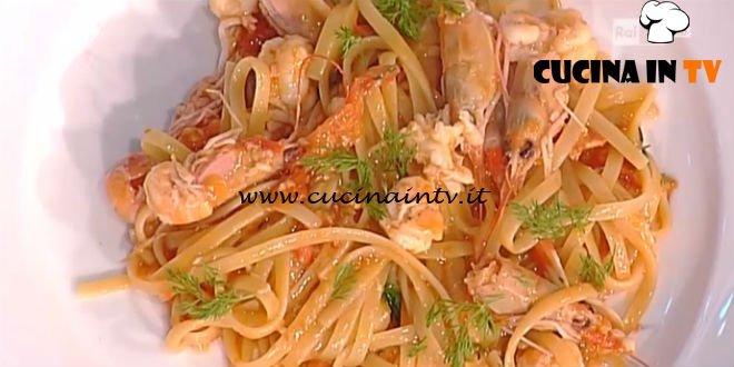 Spaghetti agli scampetti ricetta Gianfranco Pascucci da La Prova del Cuoco