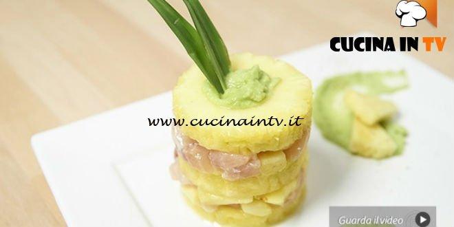 Masterchef 5 Ricetta Tartare Di Pesce Spada E Ananas Con Gazpacho