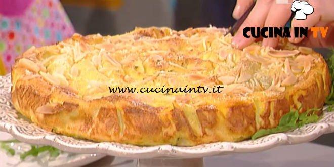 La Prova del Cuoco - Torta arrotolata di crepes salate ricetta Natalia Cattelani