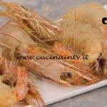 La Cuoca Bendata - ricetta Mazzancolle fritte in spaghetti di riso di Benedetta Parodi