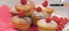 La Cuoca Bendata - ricetta Muffins ai lamponi e zucchero di canna di Benedetta Parodi