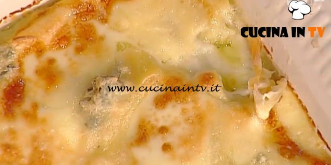 La Prova del Cuoco - Paccheri ai 4 formaggi ricetta Sergio Barzetti