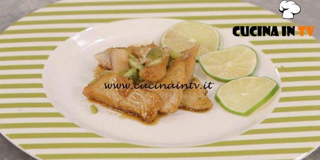 La Cuoca Bendata - ricetta Pesce caramellato al lime di Benedetta Parodi