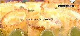 La Prova del Cuoco - Rose di lasagne ricce ricetta Natalia Cattelani