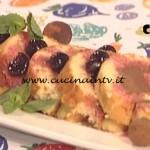 La Prova del Cuoco - Rotolo con mousse di cioccolato all'acqua e amarene ricetta Sergio Barzetti