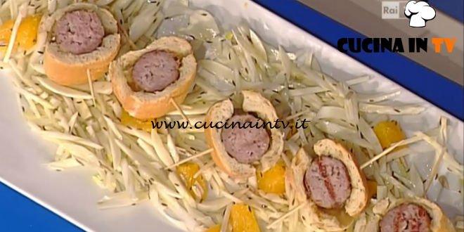 La Prova del Cuoco - Salsiccia in crosta di pane ricetta Fabrizio Nonis