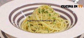 La Cuoca Bendata - ricetta Spaghetti aglio olio rivisitati di Benedetta Parodi