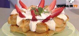 La Prova del Cuoco - Torta Saint Honoré ricetta Riccardo Facchini
