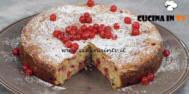 La Cuoca Bendata - ricetta Torta di ricotta e ribes di Benedetta Parodi