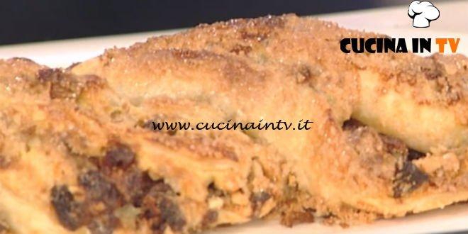 La Prova del Cuoco - Treccia farcita di crema ricetta Anna Moroni