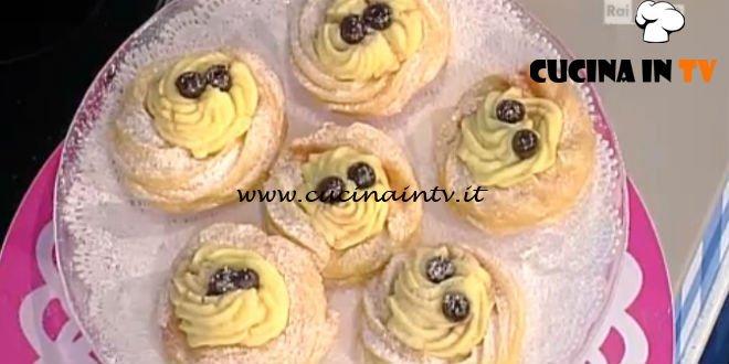 La Prova del Cuoco - Zeppole di San Giuseppe ricetta Anna Moroni