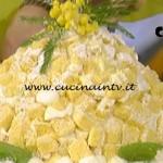 La Prova del Cuoco - Zuccotto mimosa ricetta Anna Moroni