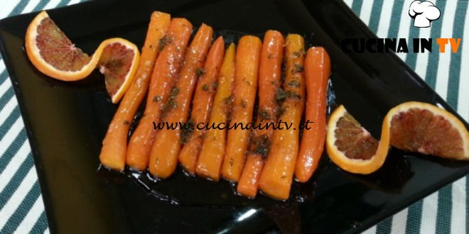 Cotto e mangiato - Carote caramellate ricetta Tessa Gelisio
