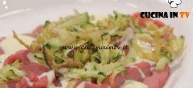 La Cuoca Bendata - ricetta Carpaccio con le zucchine di Benedetta Parodi